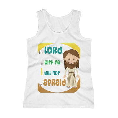 The Lord Is With Me Girls Tank Top