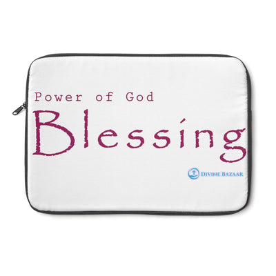 God's Blessing Laptop Sleeve