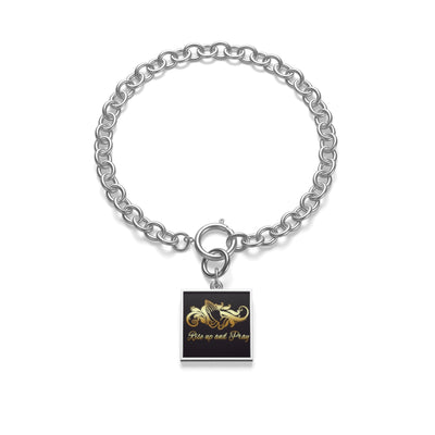 Get up And Pray Chain Bracelet