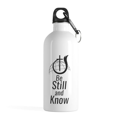 Be Still and Know Stainless Steel Water Bottle