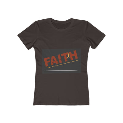 HAVE FAITH Women's The Boyfriend Tee