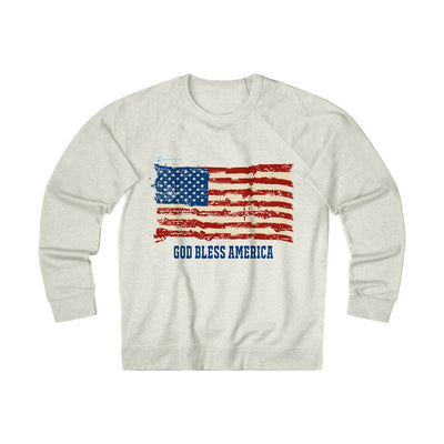 Unisex French Terry Crew God Bless America
