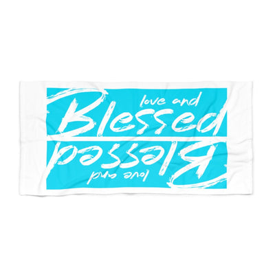 Blessed Beach Towel