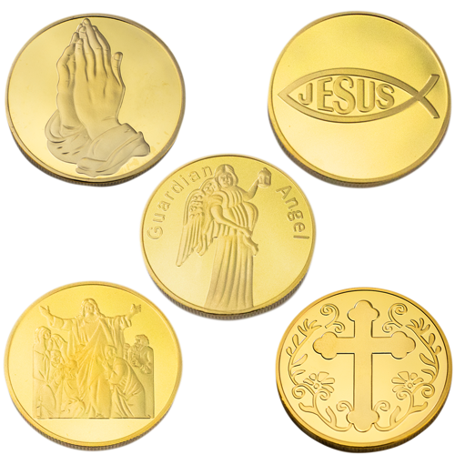The Disciples 5 Piece Collectors Coin Set