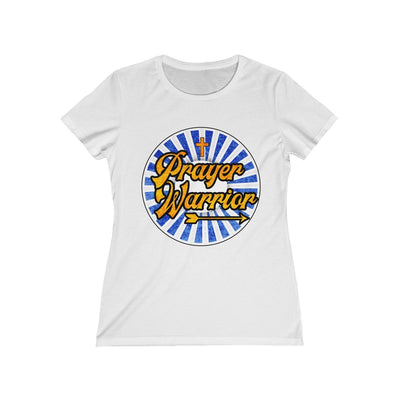 Prayer Warrior Women's Missy Tee