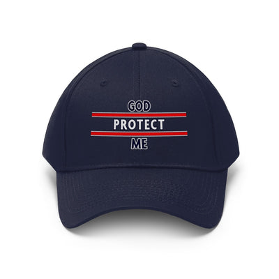 Unisex Twill Hat- God Protect Me
