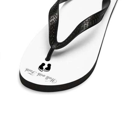 Walk with faith Unisex Flip-Flops