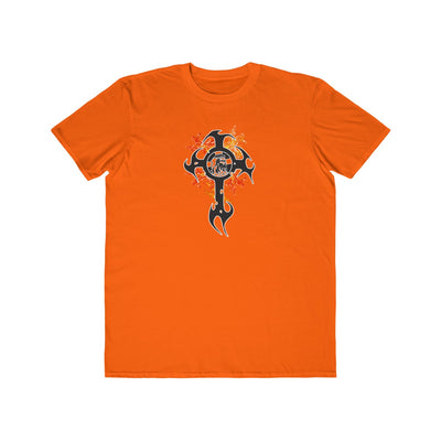 Cross on Fire Men's Lightweight Fashion Tee