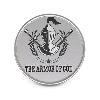 Silver Metal Pin - The Armor of God