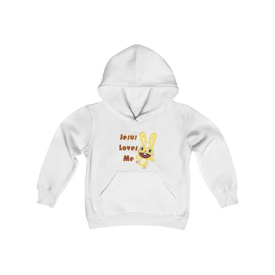Youth Heavy Blend Hooded Sweatshirt Happy Rabbit