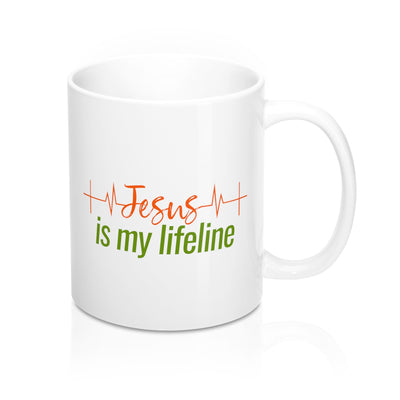 Jesus is my Lifeline Mugs