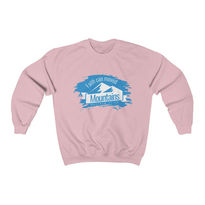 Faith Can Moved Mountains Unisex Heavy Blend™ Crewneck Sweatshirt