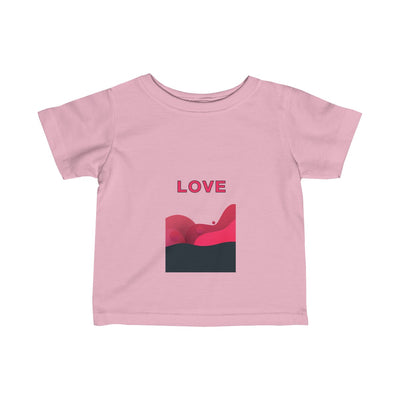 Love Abstract Infant Fine Jersey Tee