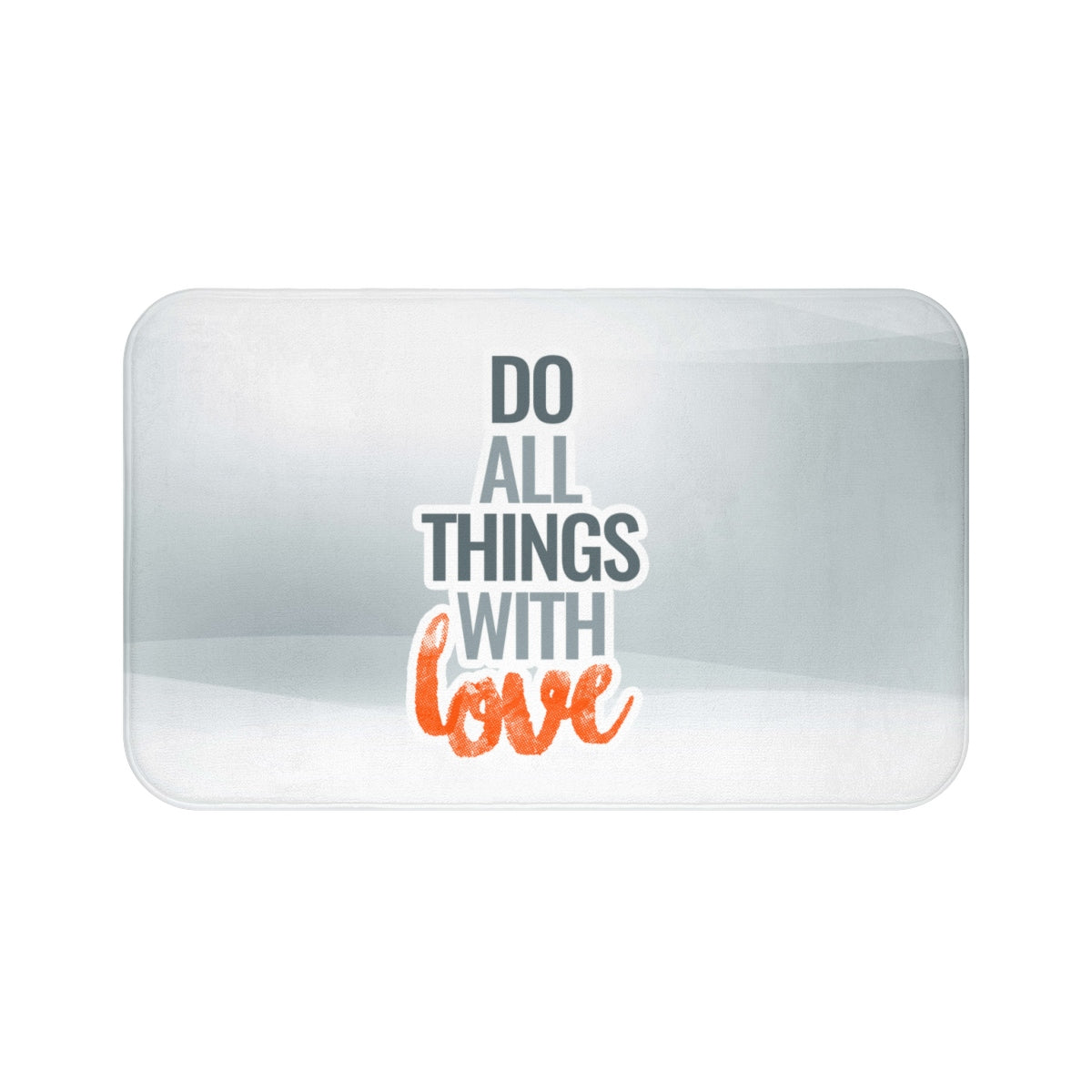 What Is Love Bath Mat