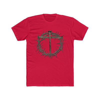 Men's Cotton Crew Tee - Thorn Crown