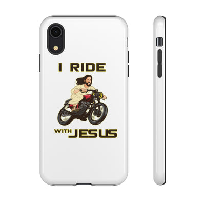 I Ride With Jesus Tough Cases