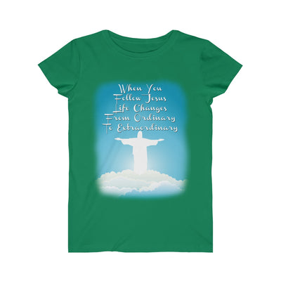 From Ordinary to Extraordinary Women's Fine Jersey Tee