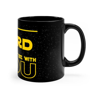 Black mug 11oz - May The Lord Be With You
