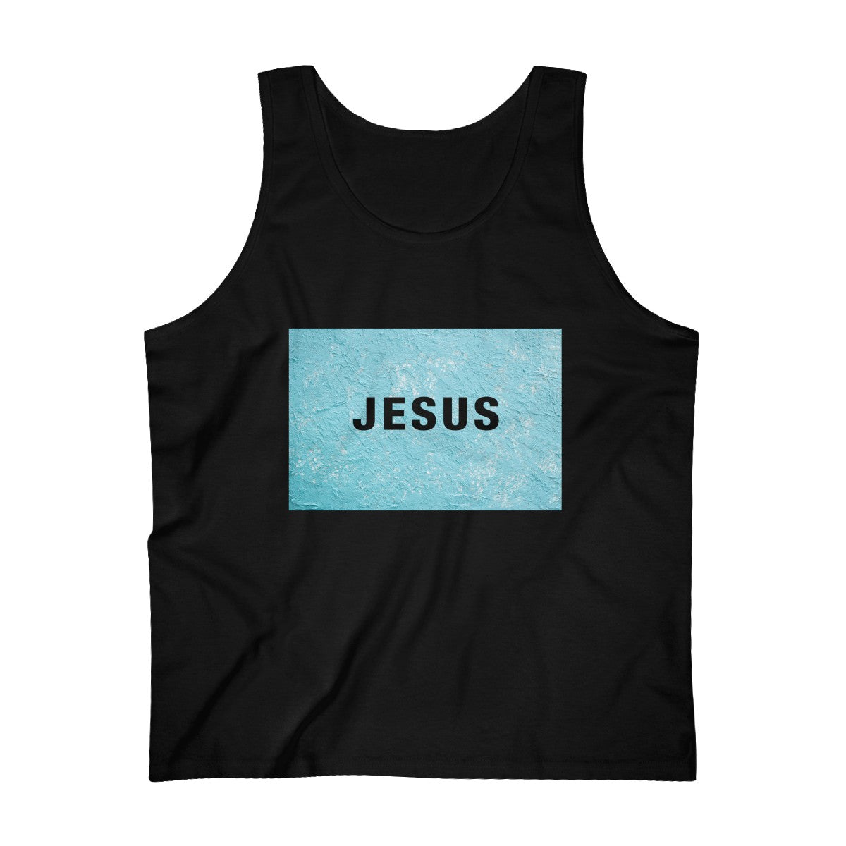 Jesus Paint Abstract Men's Ultra Cotton Tank Top