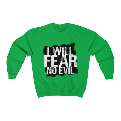 I Will Fear No Evil Unisex Heavy Blend™ Crewneck Sweatshirt