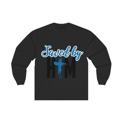 Saved by Him Unisex Long Sleeve Tee