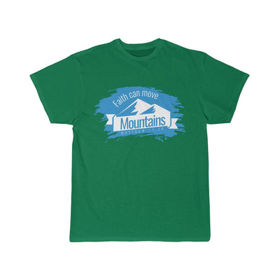 Faith can move mountains Men's Short Sleeve Tee