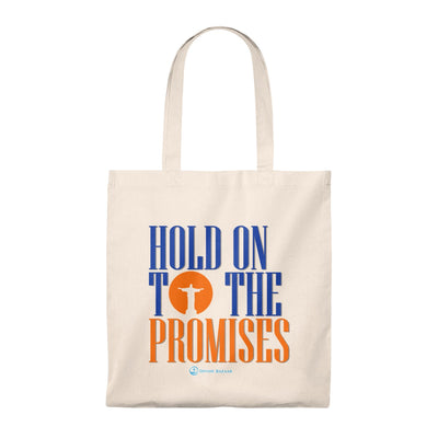 Hold on to the Promises Tote Bag - Vintage