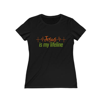 Jesus is my Lifeline Women's Missy Tee