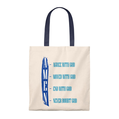 Amen Tote Bag - Vintage