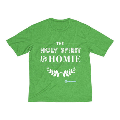 Men's Heather Dri-Fit Tee - The Holy Spirit is my Homie