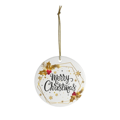 Ceramic Ornaments - Merry Christmas