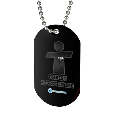 Dog Tag- Christ Lives in Me