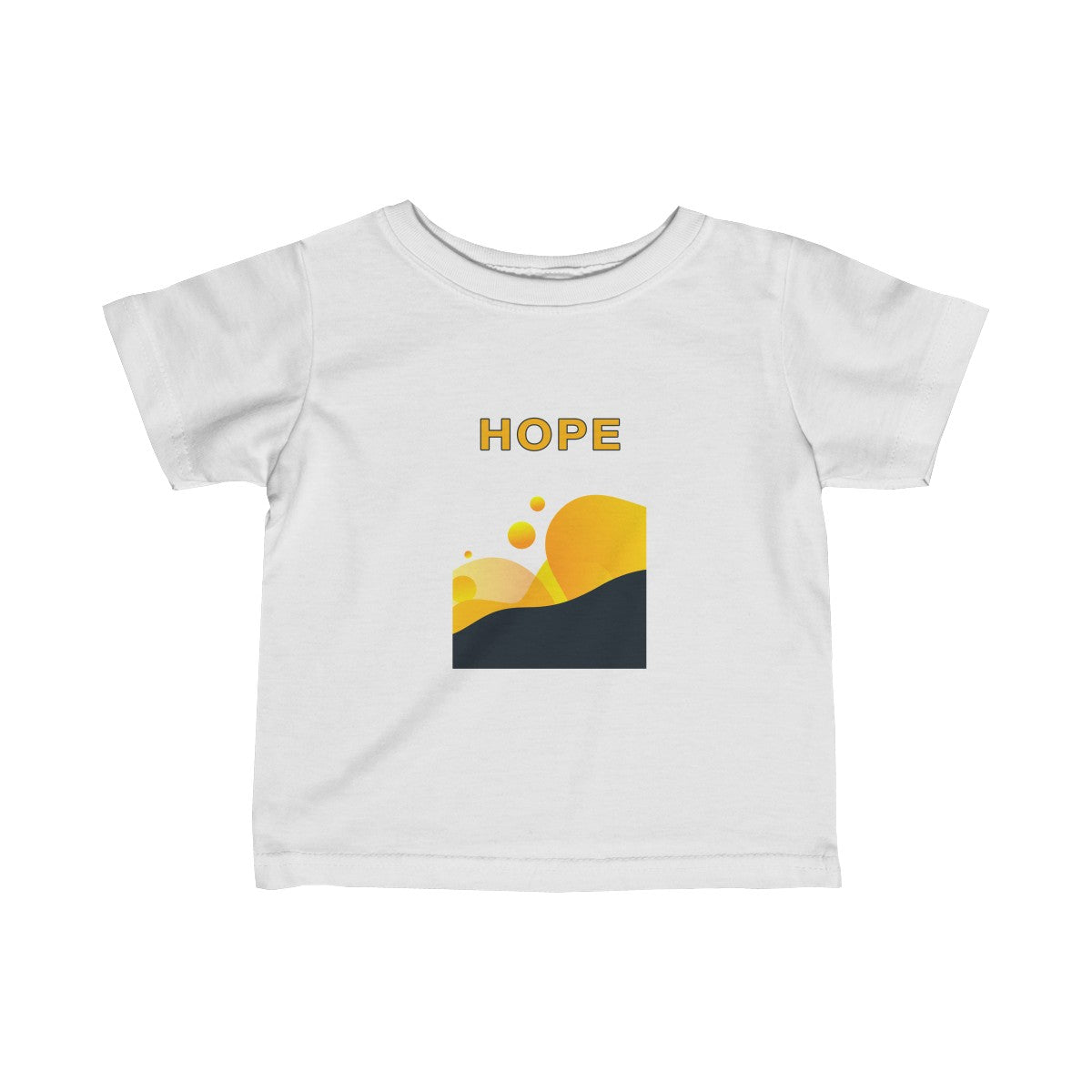 Hope Abstract Infant Fine Jersey Tee
