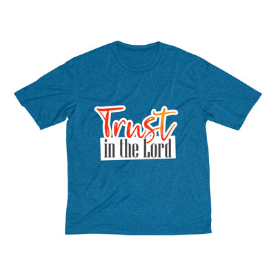 Always Trust in the Lord Men's Heather Dri-Fit Tee