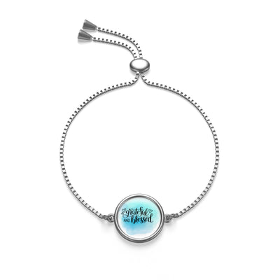 Grateful and Blessed Bracelet