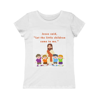 Let The Children Girls Princess Tee