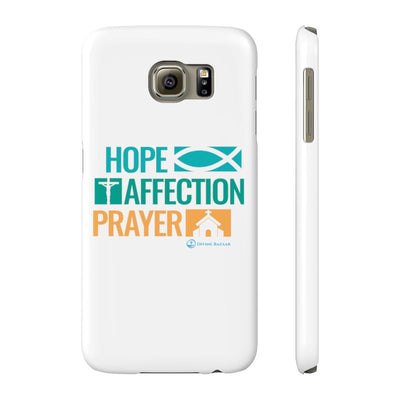 Hope affection Prayer Case Mate Slim Phone Cases