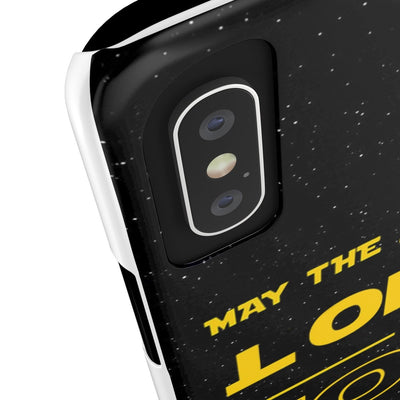 Case Mate Slim Phone Cases - May The Lord Be With You