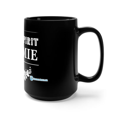 Black Mug 15oz - The Holy Spirit is my Homie