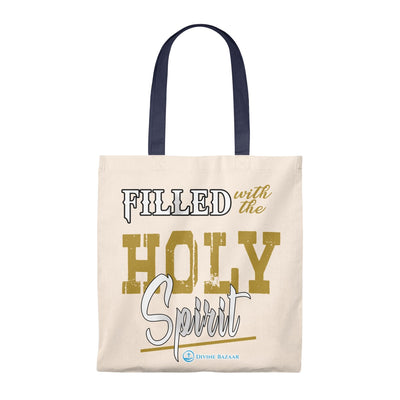 Tote Bag - Vintage - Filled with the Holy Spirit