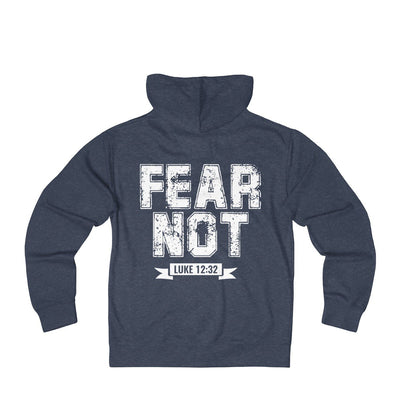 Fear Not Unisex French Terry Zip Hoodie