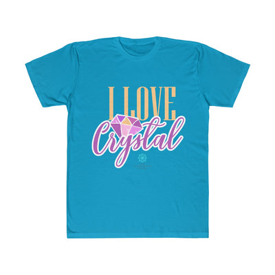 I Love Crystal Unisex Fitted Tee