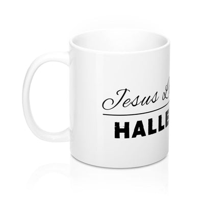 Mug 11oz - Jesus Loves You Hallelujah