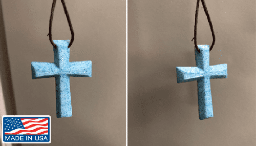 American Made Cross Necklace - The Divine Bazaar