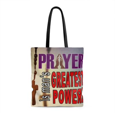 Prayer - AOP Tote Bag