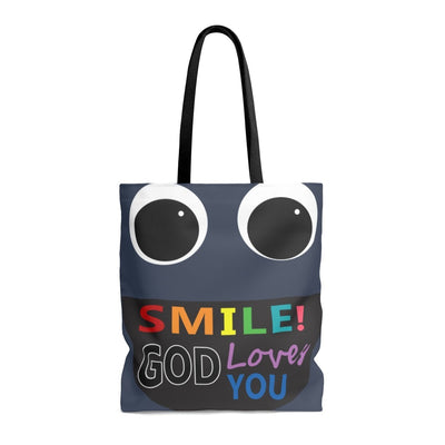 Smile - AOP Tote Bag