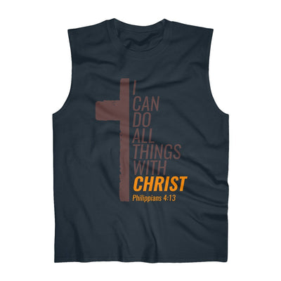 All Things With Christ  Men's Ultra Cotton Sleeveless Tank