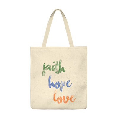 Our Faith Hope Love Shoulder Bag