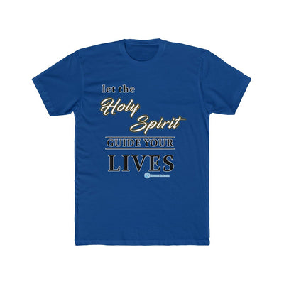 Men's Cotton Crew Tee - Holy Spirit