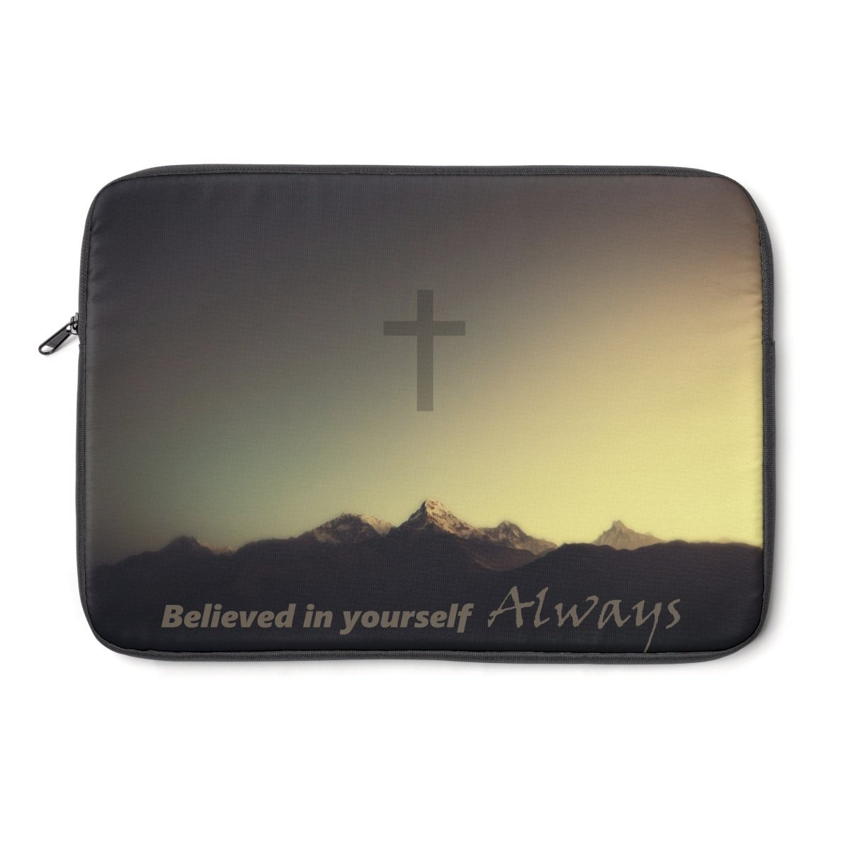 Believed Always Laptop Sleeve